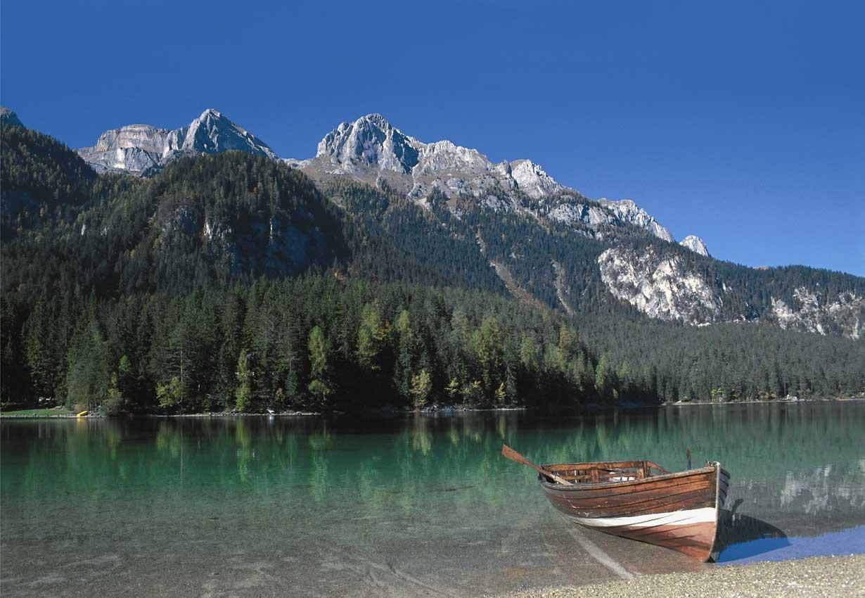 Lago di Tovel Val di Non, Trentino